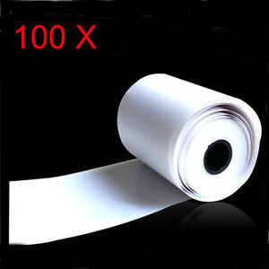 100x Thermal Paper Cash Register Receipt Roll For Mobile 58mm 30mm Mini Printer