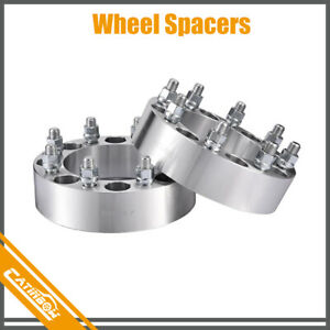 2pcs 2 Wheel Spacers 8 Lug Adapter 8x170 For Chevy Express 2500 3500 Gmc Savana