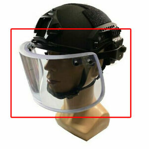 Ballistic Bulletproof Protect Mask Face Guard Shield For Fast MICH  M88 Helmet $202.85