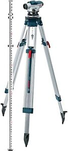 New Bosch Gol 26ck 26x Optical Leveling Full Kit W tripod Rod Case And Tools