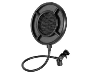 THRONMAX Professional Microphone Pop Filter Mask Shield For Any Other Microphone $19.90