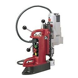 Milwaukee Fixed Position Electromagnetic Drill Press With 3 4 In Motor