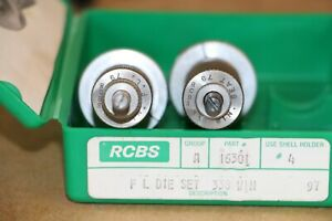 RCBS Reloading Dies 338 Win *FL* 16301 With Shell Holder #4 $25.00