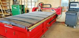 60x120 Cnc Plasma Cutter Rated To Cut 1 16 To 3 Plate