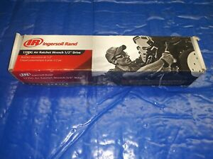 New Ingersoll Rand 1770g 1 2 inch Edge Series Drive Air Ratchet Wrench Tool