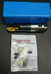New Valenite 1 1 2 Indexable Ball Nose End Mill Valmill 440 Machinist 1 50
