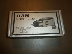 3 8 Butterfly Pneumatic Air Impact Wrench 75ft Lb Torque Compressor Tool Ram