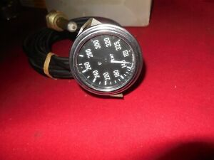 Nos Stewart Warner 140 325 Mechanical Water Temp Gauge Excellent Gasser Trog