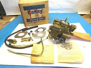 1062 70 Ford Holley Carburetor R7107 Nos Original 6r3625b 144 170 200 240 250