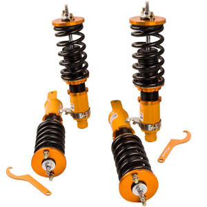 Full Coilovers Kits For Ef Civic Crx 88 91 Shocks Spring Struts Absoebers