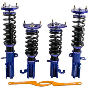 Full Assembly Coilover Kits For Toyota Corolla 88 99 E90 E100 E110 Adj Camber