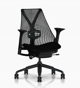 Sayl Chair By Herman Miller Black Barely Used