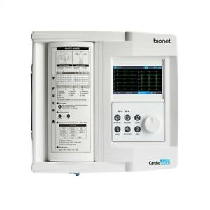 Bionet Cardiotouch 3000 Interpretive 12 Channel Resting Ecg With Color Lcd