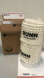 Bunn 20106 0000 8 1 2 X 3 8 To 10 Cup Decanter Style Coffee Filter 1000 case