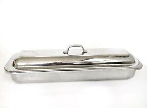 Vintage Polar Stainless Steel Medical Surgical Instrument Tray 125 1 64