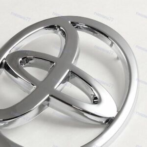 New Chrome Rear Trunk Emblem Badge For 02 06 Toyota Camry 03 08 Toyota Corolla