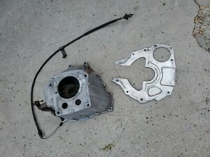 Ford Mustang 2 3 Svo T5 Manual 5 Speed Transmission Bell Housing Oe E3zr 6394 ba