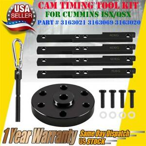 Cummins Isx Qsx Cam Timing Injector Cam Gear Puller Tool Kit 3163021 3163069