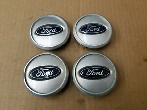 Ford Oem 2005 2009 Mustang Set Silver Center Cap Hub Dust Cover 4r33 1a096 Bb