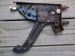 Used 1966 Ford Galaxie 500 Xl Parking Brake Lever Pedal Assembly E brake