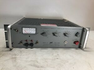 Power Designs 1570 1 3012v 40ma Hv High Voltage Calibrated Power Supply Tested
