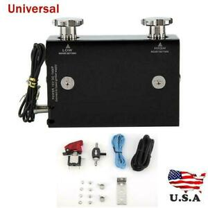 Universal Electronic Adjustable Dual Stage Car Turbo Boost Controller Kit Usa