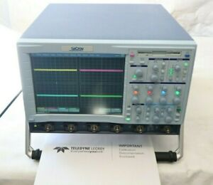 Lecroy Wavepro 7300 3ghz 20gs s 4ch Oscilloscope wl600 D300 s Software Opts