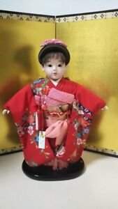 Vintage Japanese Ichimatsu Doll 18 Inch 45cm New Looking Girl Mint