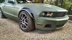 Fender Flares For Ford Mustang S197 Shelby Wide Body Arch Extensions 2 0 3 5