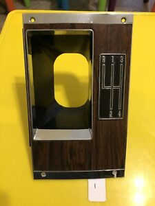 1969 Camaro 4 Speed Console Plate Original 3949537