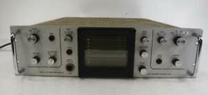 Vintage Ball Brothers Mark 21 Rm Waveform Monitor Video Image Display Sync View