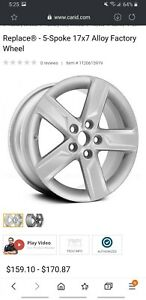 Factory Rims And Tires For 2014 Toyota Camry