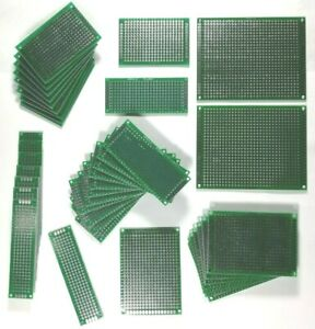 40 Pc Uxcell Breadboard Prototype Board Dual Sided Pcb Universal Circuit