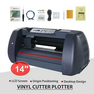 14 Vinyl Cutter Sign Plotter Sign Maker Cutting Pape Printer W 3 Blades