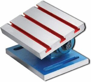 Adjustable Swivel Angle Plate 8 X 10 manufactured From High Grade Casting
