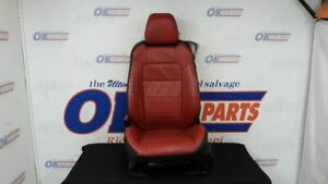 2015 16 17 Ford Mustang Driver Left Front Seat Black Red Leather Redline Power