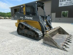 2015 John Deere 323e Tracked Skid Steer Nice Shape Over All