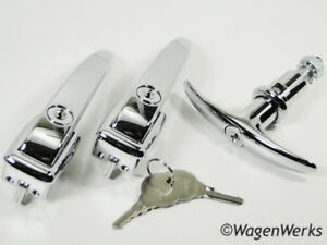 Vw Bug Door Handle Set Bug 1952 To 1955