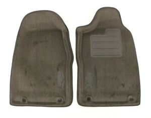 New Oem Gm Carpeted Front Floor Mat Set Ebony 19158121 Colorado Reg Cab 2007 12
