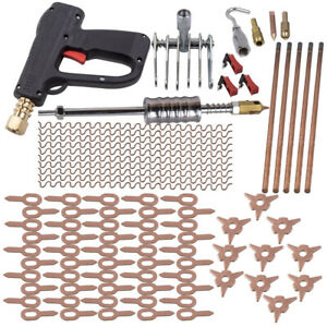 New 86pcs Dent Puller Kit Car Body Dent Spot Repair Tool Device Welder Stud