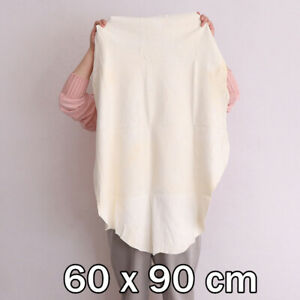 60x90cm Natural Chamois Leather Car Drying Cloth Shammy Cleaning Towel Absorbent
