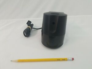 Boston Hunt Electric Pencil Sharpener Black 296a Model 21 Tested Made In Usa Euc