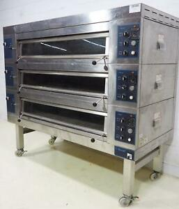 Revent 649u Electric Pizza Bakery Oven 3 Stone Deck W Steam Inject