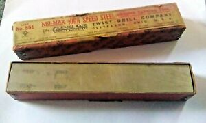 Vtg Cleveland Mo max Metal Lathe Tool Bit Solid Rectangle 3 4 X 1 X 6 Ground