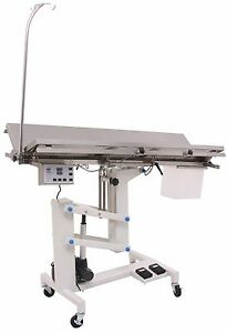 Veterinary Surgical Operating Table Ft 828h Electric Lift Heat Controlled V top
