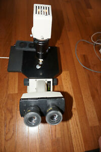 Nikon Tms Inverted P Microscope Eyepiece 3 X Objectives