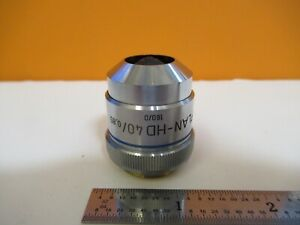 Zeiss Germany Epiplan hd 40x 160 Objective Microscope Part As Pictured