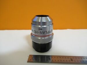 Zeiss Germany Epiplan hd 4x 160 Objective Microscope Part As Pictured