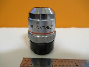 Zeiss Germany Epiplan hd 8x 160 Objective Microscope Part As Pictured