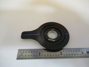 Carl Zeiss Jena Retarder Pol Optic Polarizer Microscope Part As Pictured A7 a 78
